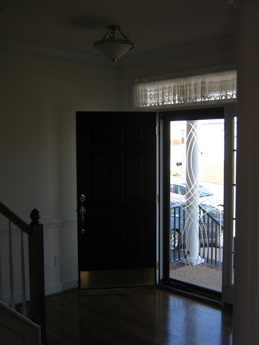 Front Door- before